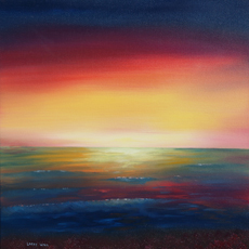 MYSTIC SUNSET Original Oil