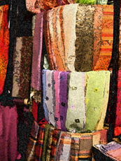 SCARVES PAINTING BY LARRY WALL