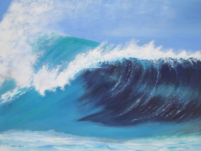 PERFECT WAVE Original Acrylic - 18
