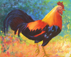 ROOSTER Original Acrylic
