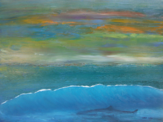 Oil Paintings by Larry Wall. Ocean Wave, Seascape, Marine, Scenic - Phone: 206-364-4365