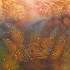 FERNS AND CEDAR Paintings by Larry Wall